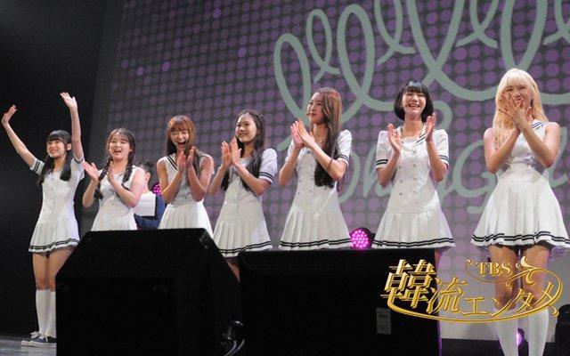 OH MY GIRL出道 1 年多,本週訪台與台灣粉絲作近距離接觸。(圖片來源:OhMyGirl FB)