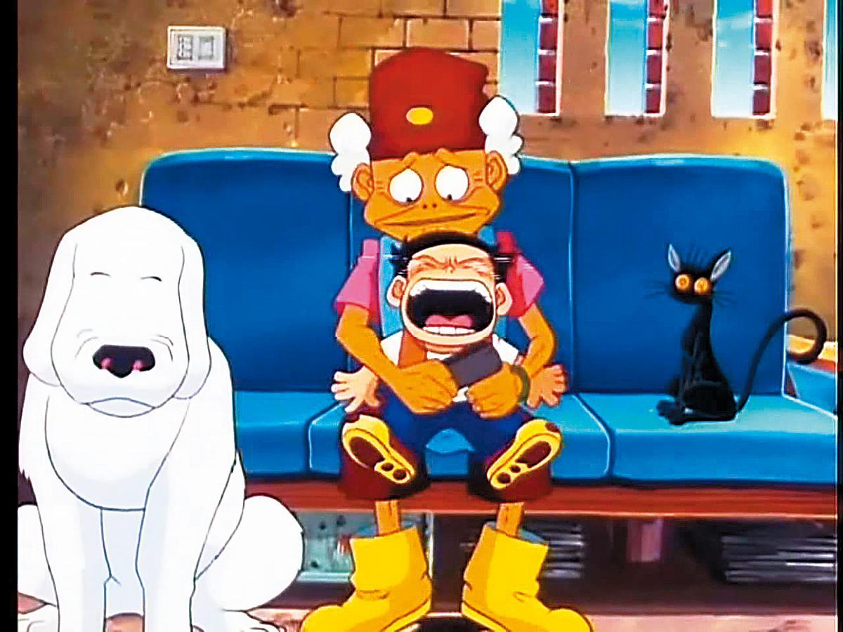 王小棣於1998年製作的動畫片《魔法阿媽》是台灣少數的原創動畫長片,可惜卻得不到政府支持,最後是在韓國後製完成的。(翻攝自網路)