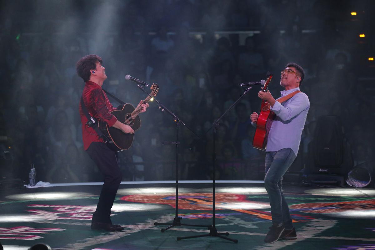 李宗盛與周華健是多年老友,老友開唱自然會來捧場。