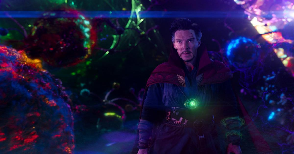 《奇異博士》開創嶄新的宇宙世界觀,讓人大開眼界。(博偉電影提供)