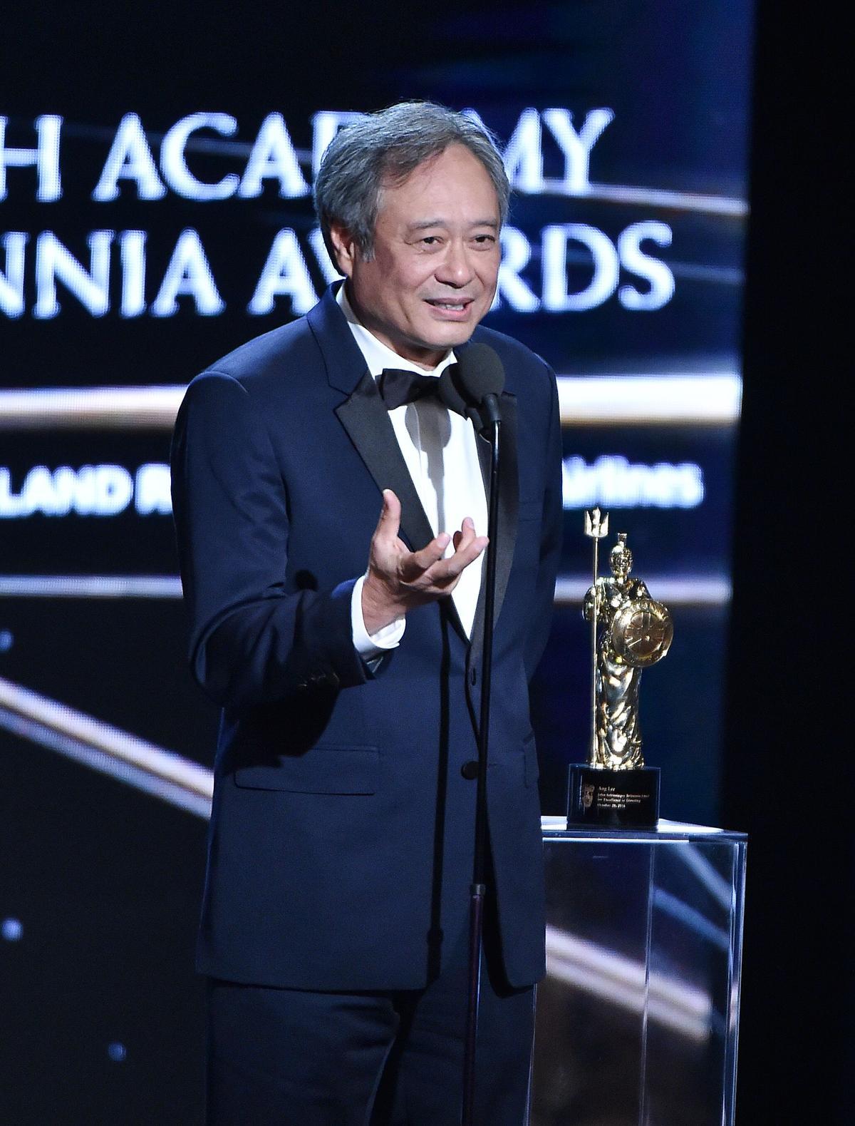 上週李安才剛獲得英國影藝學院頒發「大不列顛獎」的「優秀導演獎」,他是第一位獲此殊榮的亞洲人。(東方IC)