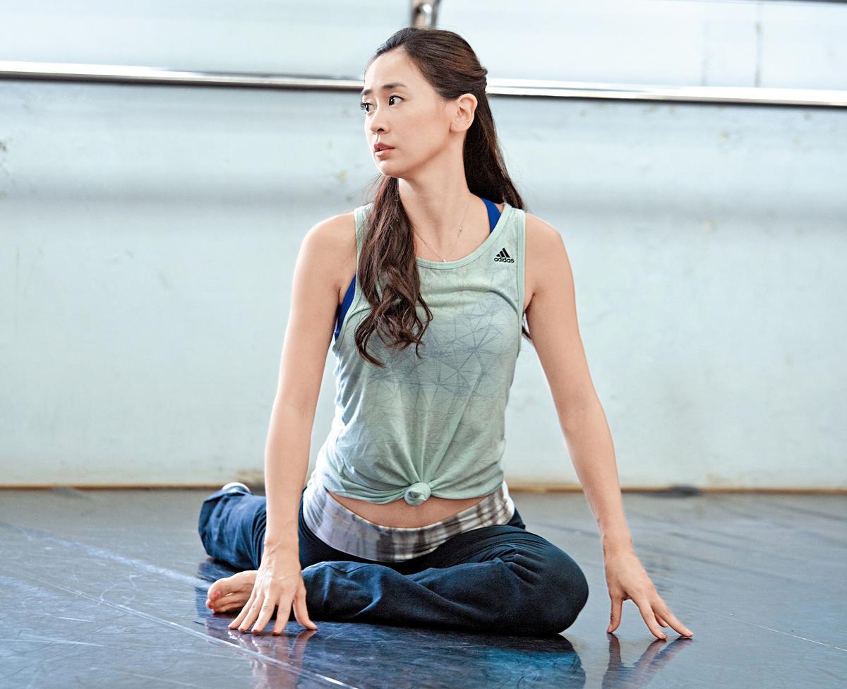 李晶晶說,「跳舞就是伸展自己而已,沒有什麼跳得好與不好,只要做自己。」