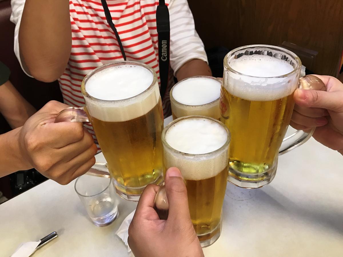 來沖繩就是要喝Orion!(生啤酒中杯500日圓)