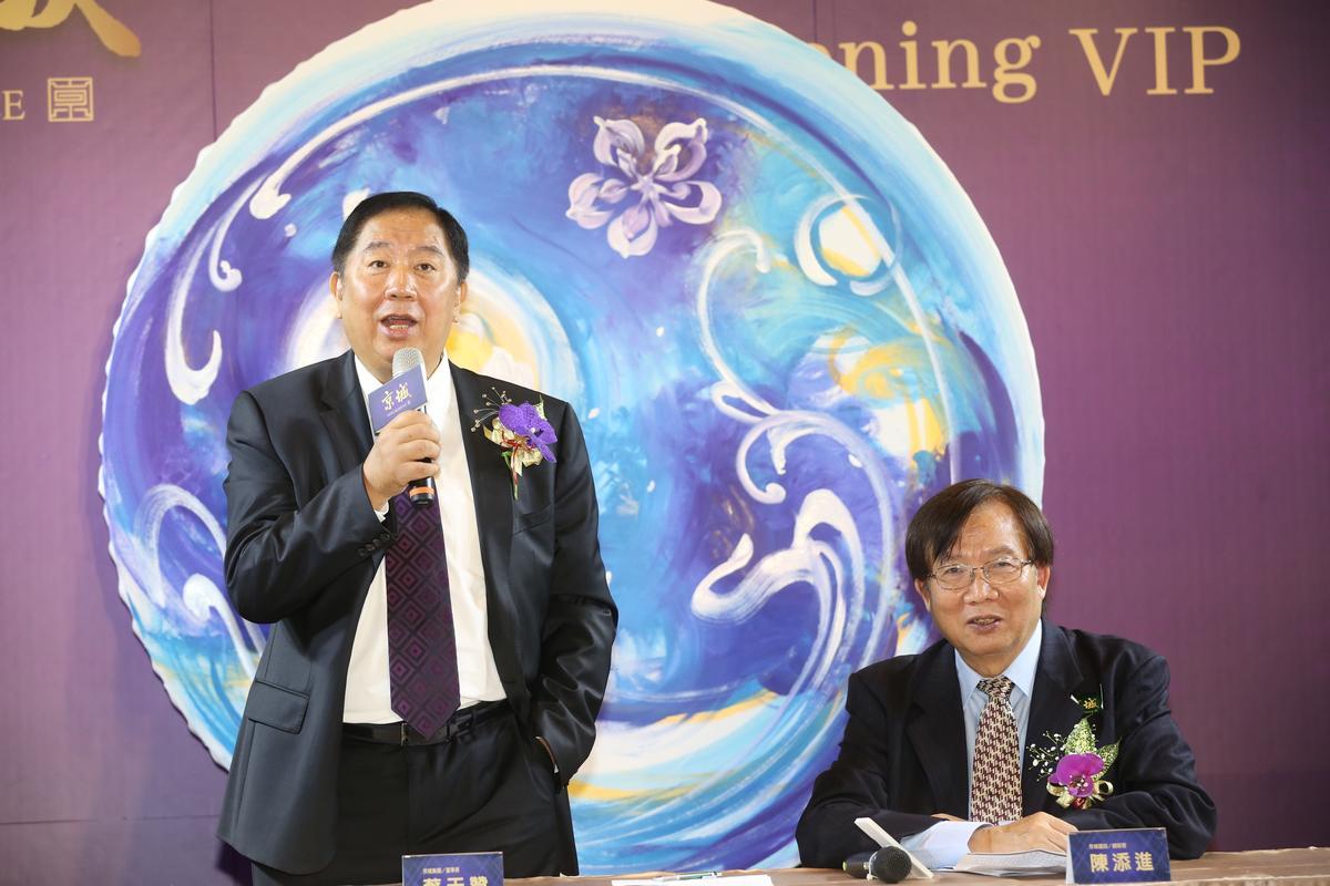 蔡天贊白手起家,從70萬元翻成上百億資產。