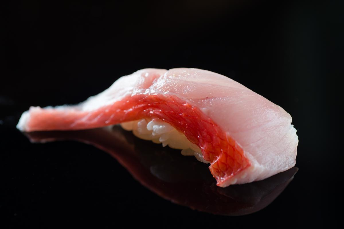 金目鯛握壽司(午間套餐1,500元)