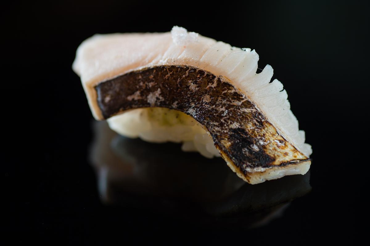 土魠魚握壽司(午間套餐1,500元)