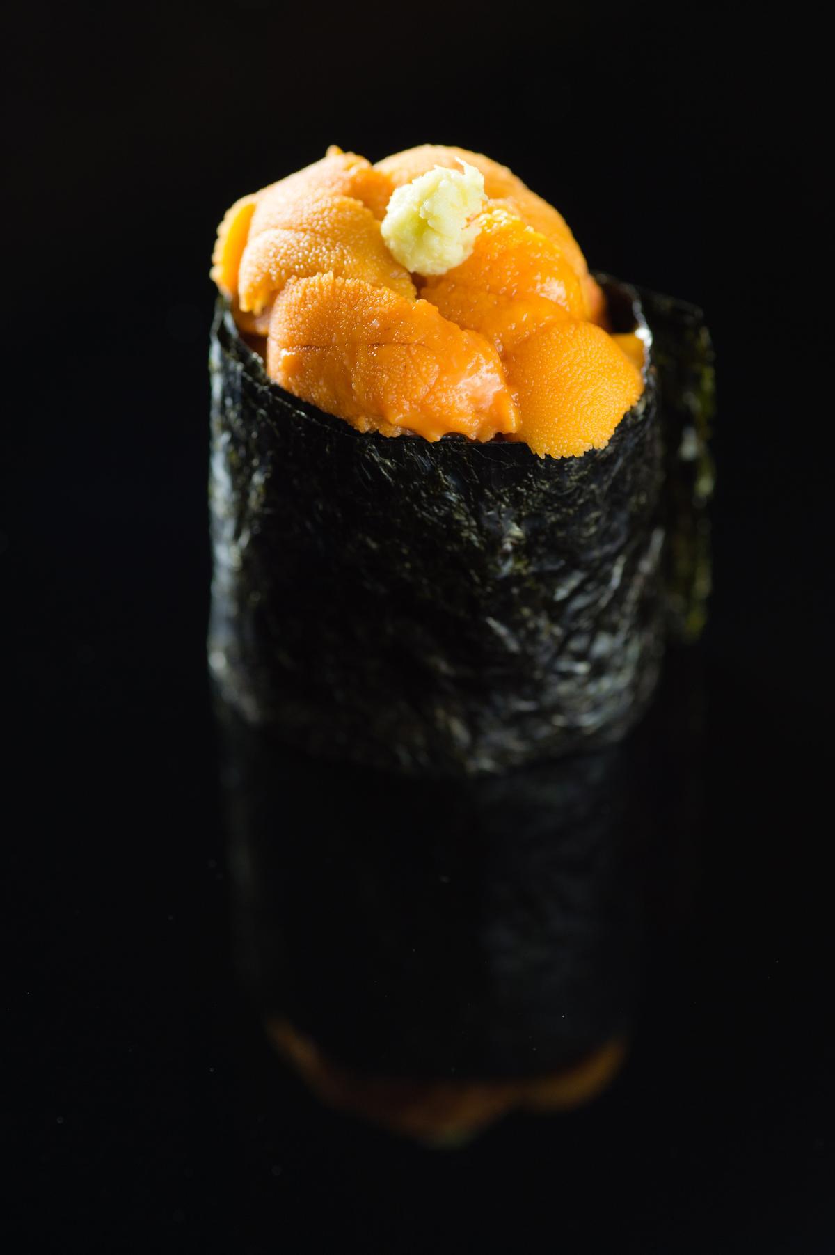 海膽軍艦卷(午間套餐1,500元)
