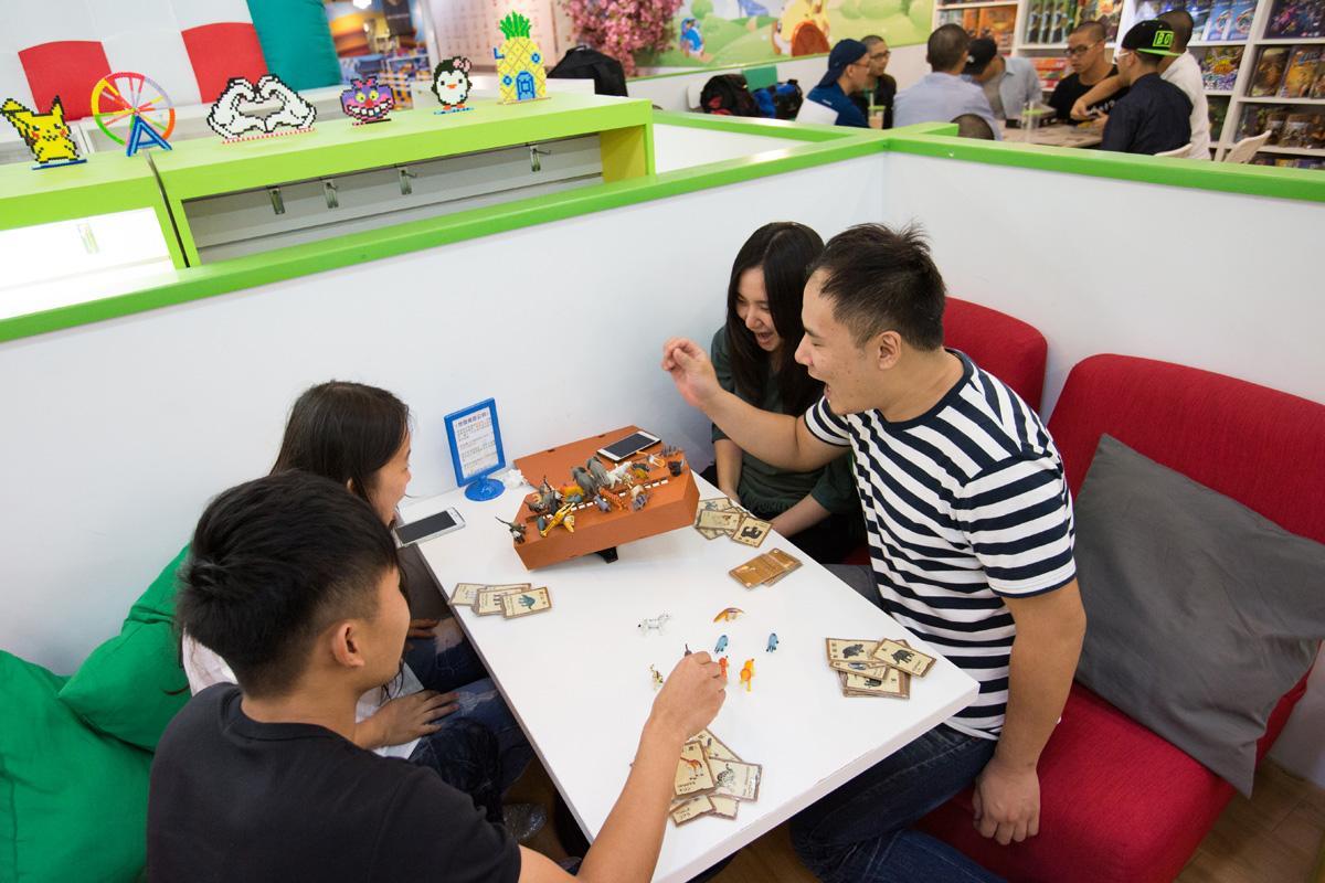 不同於勃根地其他店面,新時代店採用計時制,提高翻桌率