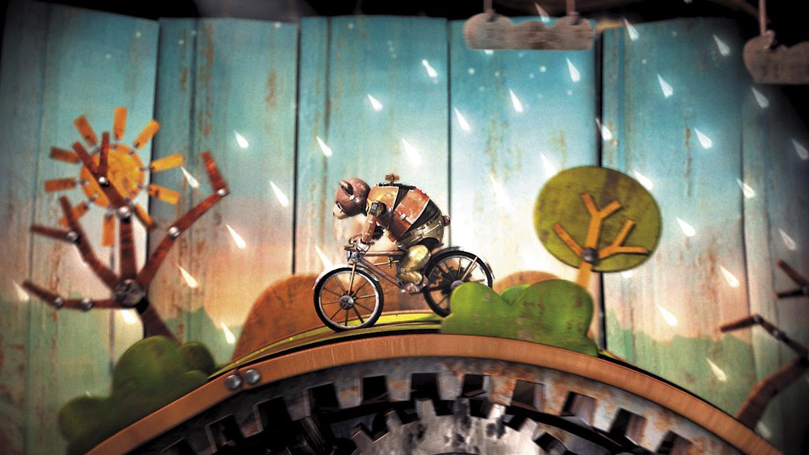 《熊的故事》劇照。(Punkrobot Studio提供)