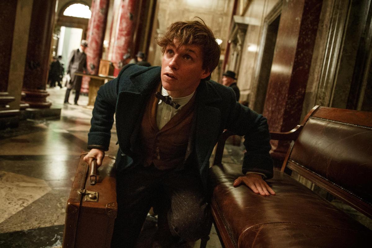 「哈利波特」熱潮雖退,但《怪獸與牠們的產地》無縫承接了哈粉,上映僅一個月就賣了2.95億元,且還繼續累積中。