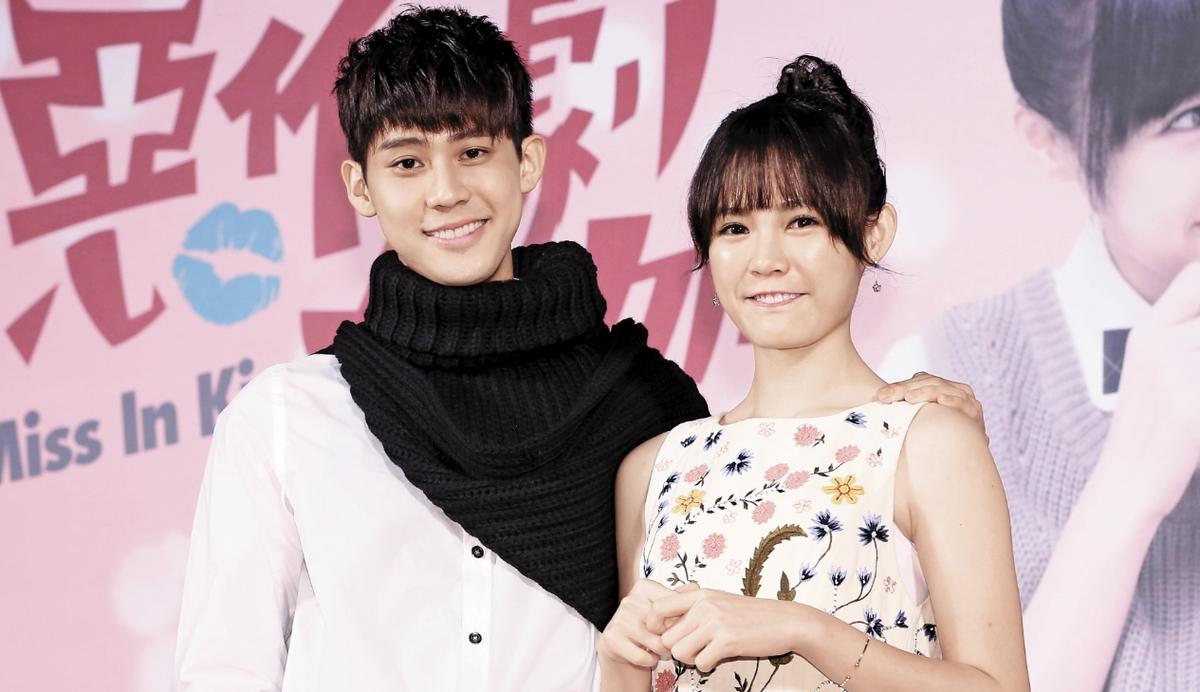 李玉璽(左)和吳心緹(右)挑戰經典偶像劇《惡作劇之吻》新版,兩人都是第一次演出男女主角。