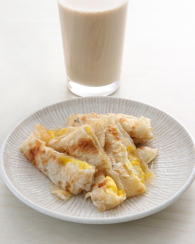 瑞麟美而美原味蛋餅被評為賣相最佳、口感次之,榮登蛋餅品項第2名。(20元)