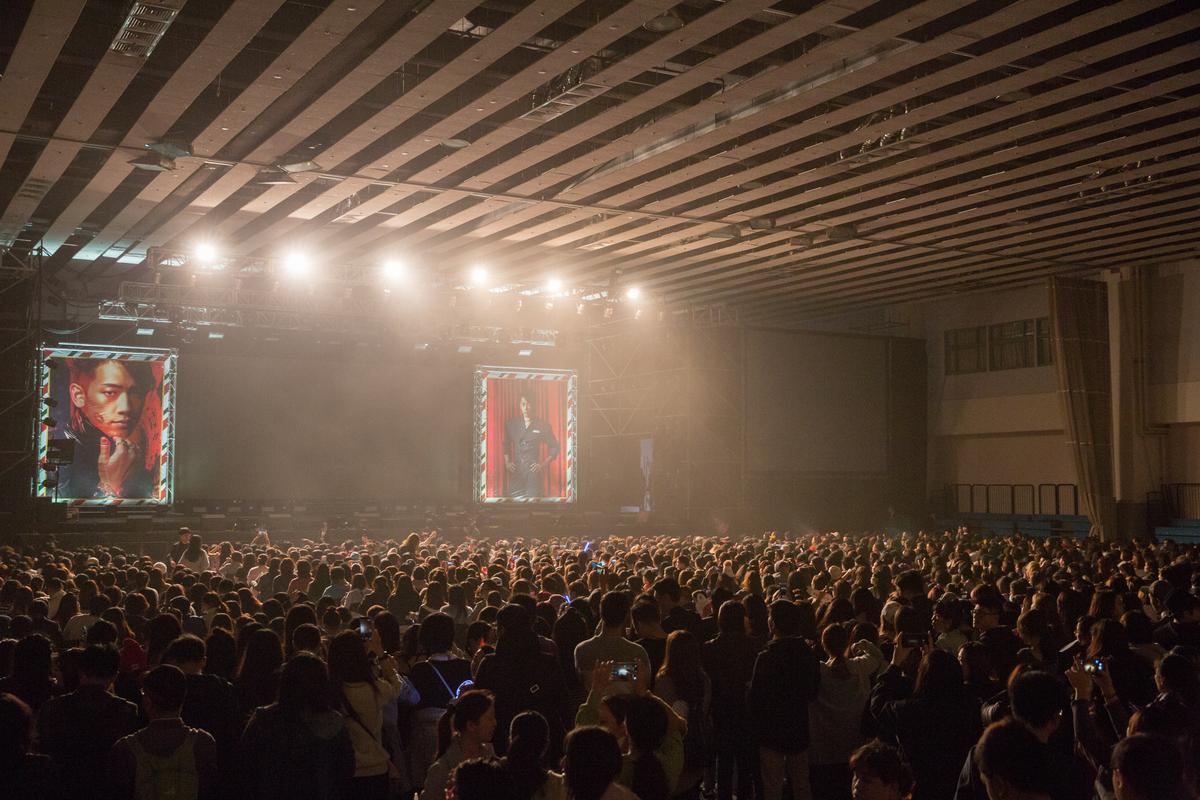 時隔5年來台,Rain開唱仍吸引2,000多位歌迷到場支持。