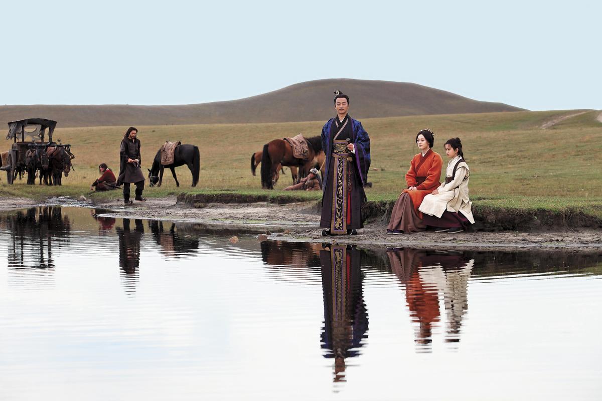 孫儷主演的《羋月傳》,視頻點擊超過245億次,是成功將線上小說改編成電視劇的「IP劇 」。(TVBS提供)