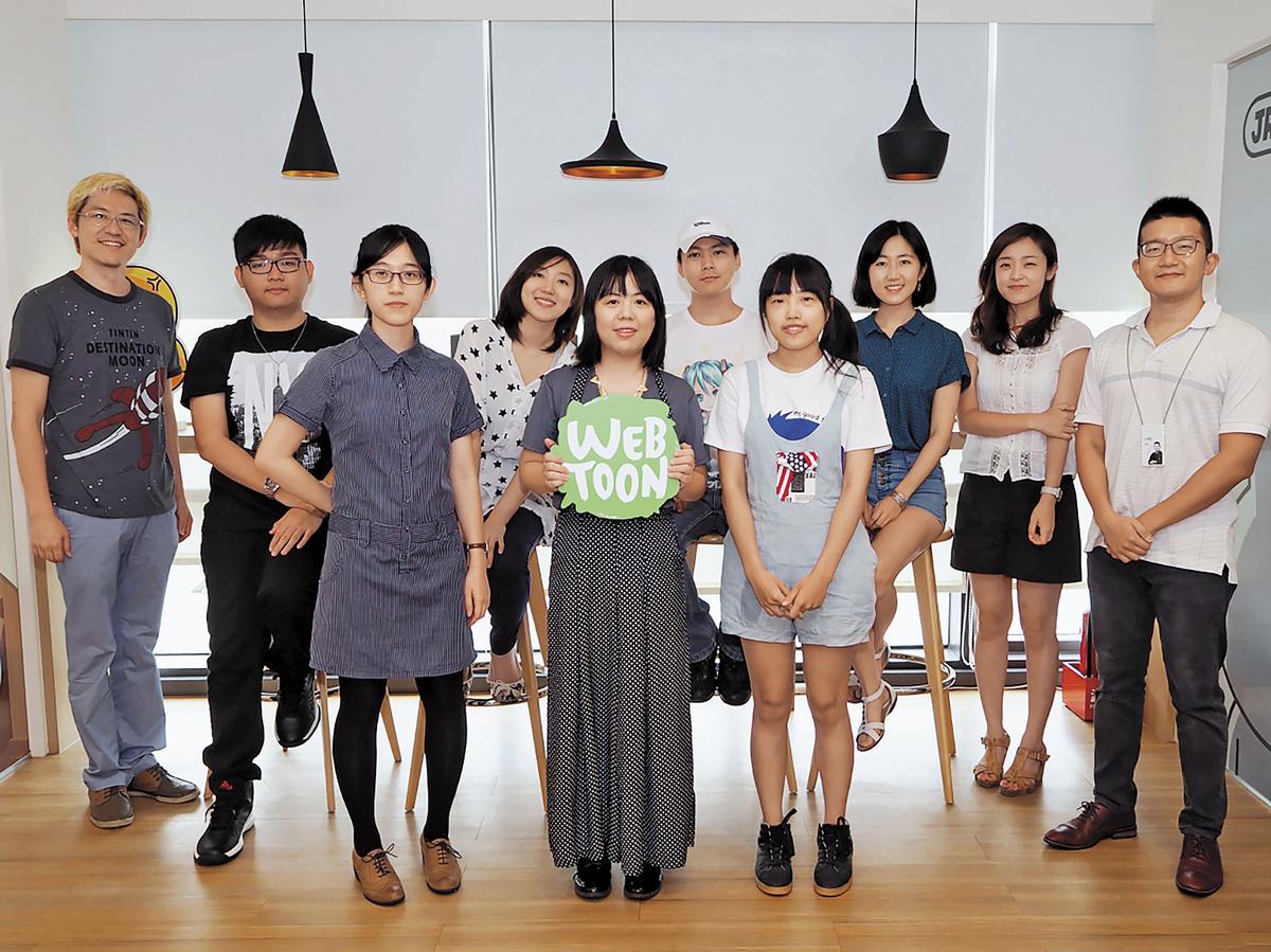 台灣LINE WEBTOON至今辦過三屆漫畫比賽,已發掘六十位台灣漫畫家。(LINE WEBTOON提供)