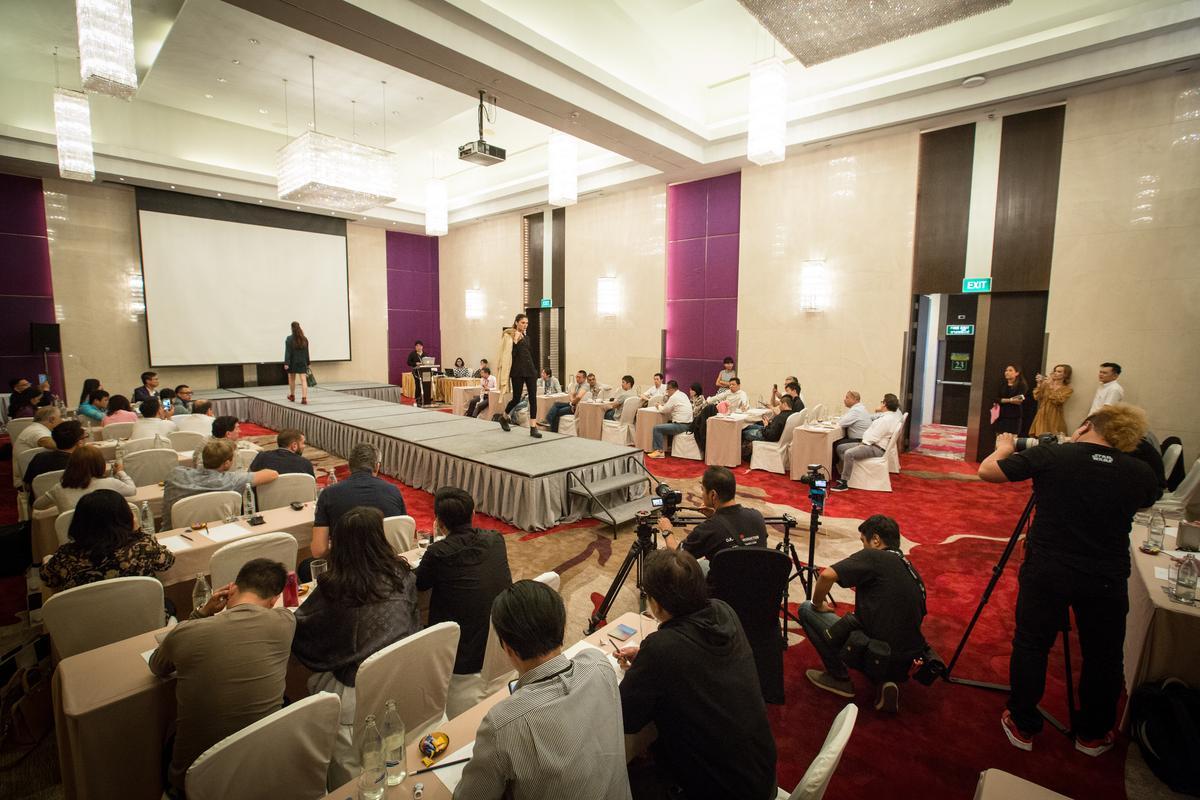 馳綠去年底在泰國曼谷舉行全球經銷商大會,邀請超過60國運動鞋品牌經銷商與會。
