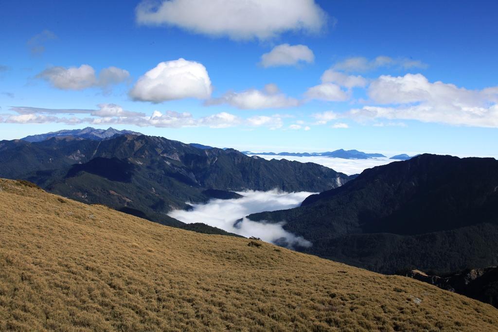 合歡東峰是合歡群峰中視野最好的山頭。