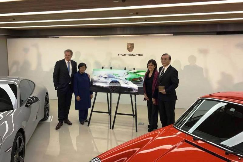 德國保時捷原廠將來台灣設立分公司。