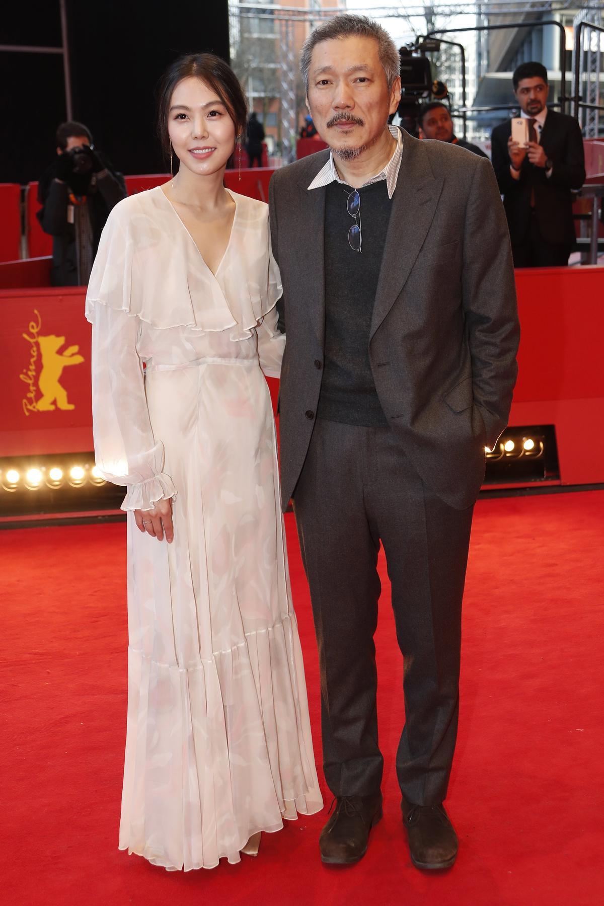 金敏喜與導演洪尚秀上演不倫戀,正是她在電影中所演出的情節。(網路照片)