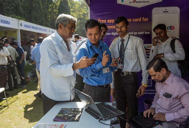 印度當局力推數位化,打造「全數位經濟體」。