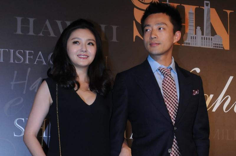 汪小菲(右)和大S認識不到一個月就閃電結婚,如今已生了兩個小孩。