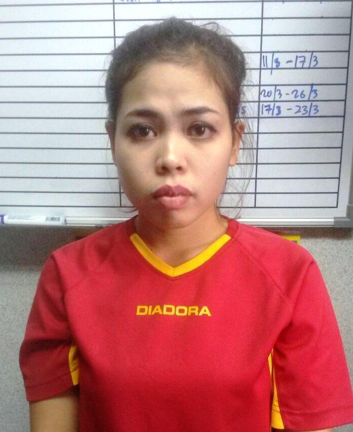 馬國警方公布25歲的印尼籍嫌犯西蒂艾莎。(翻攝網路)