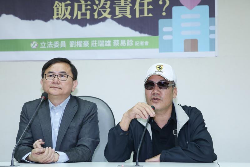 對檢方起訴結果,郭父呼籲政府能有具體掃毒政策,讓毒品不要再氾濫。