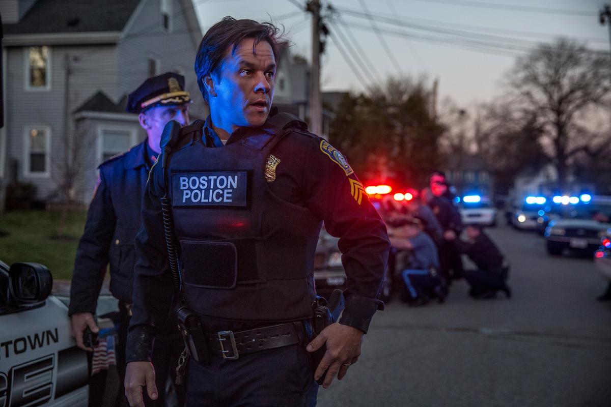 《愛國者行動》以「波士頓馬拉松爆炸案」為題材,而主角馬克華柏格老家就在波士頓。(甲上娛樂)