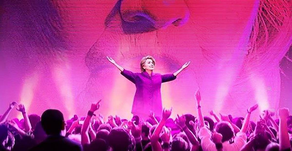 《希拉蕊的美國:揭露民主黨》全片抨擊希拉蕊及柯林頓,遇上民主黨支持者眾多的好萊塢影圈,得金酸莓獎不意外。(網路圖片)
