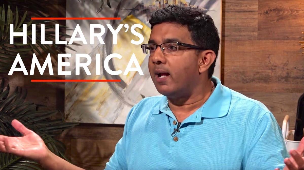 《希拉蕊的美國:揭露民主黨》的導演丹尼許德蘇薩包辦最爛導演及最爛男主角兩大獎項。(網路圖片)