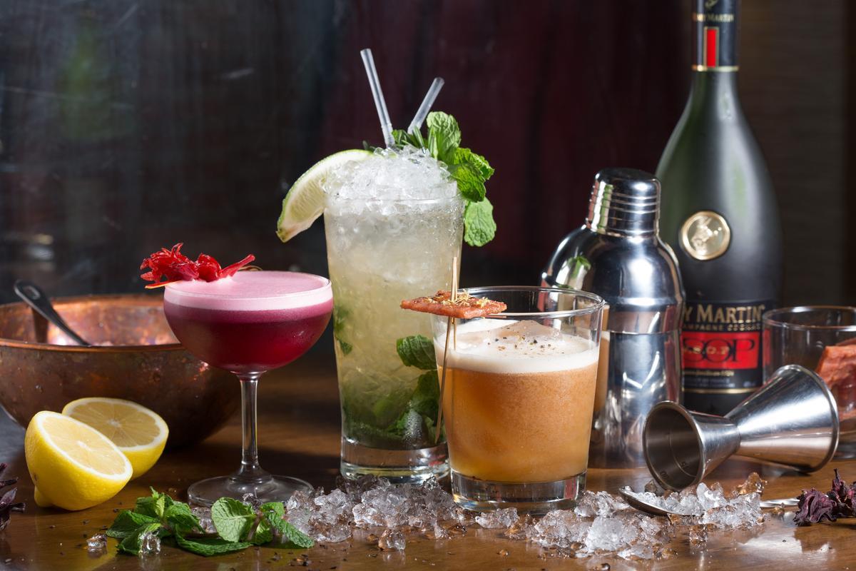 運用大稻埕元素的「迪化街之旅」系列調酒,創意完成度都很高。