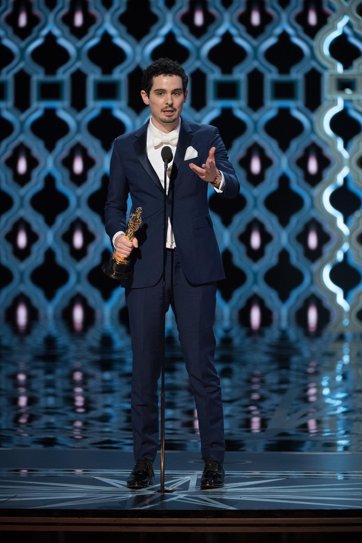 達米恩查澤雷是奧斯卡史上最年輕的最佳導演,33歲!