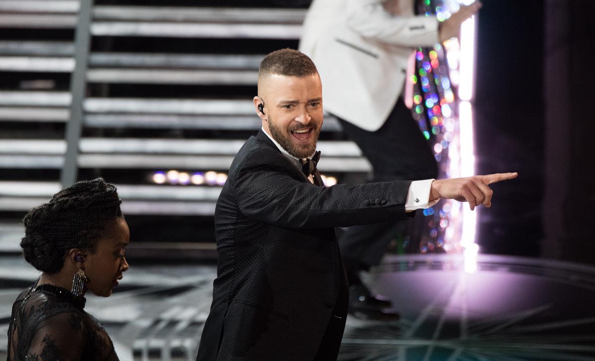 賈斯汀在奧斯卡典禮的開場表演熱力四射,但還是沒得獎。