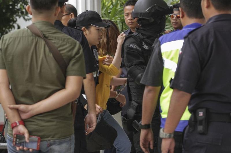 馬來西亞法院3月1日分別拘提涉嫌毒殺金正男的兩名女嫌,並控以謀殺罪名,圖為越南籍的段氏香。(翻攝網路)