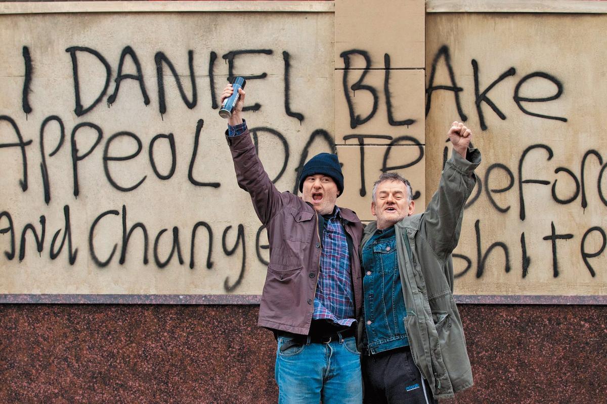 英國公視BBC投資的《我是布萊克》探討社福制度問題,是世界各國公視都感興趣的題材。(傳影互動提供)