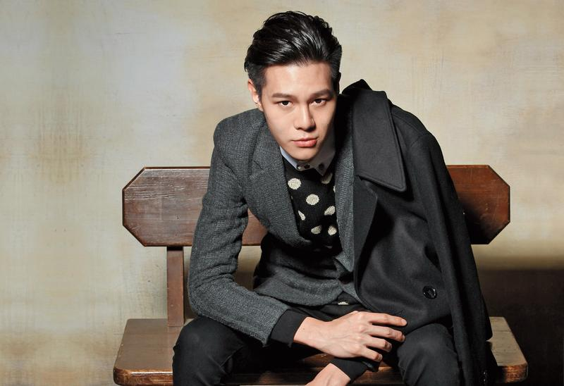 吳承璟從大一就進入模特兒圈,目前積極朝戲劇圈發展。(伊林娛樂提供)