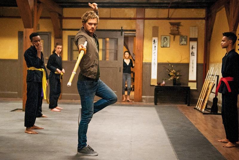 芬恩瓊斯飾演的鐵拳俠,功夫結合詠春、太極,很有中國味。