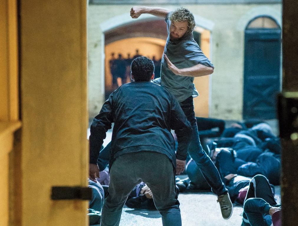 《漫威鐵拳俠》的武打場面結合中國功夫,加上畫面的要求,拍出不一樣的影集質感。