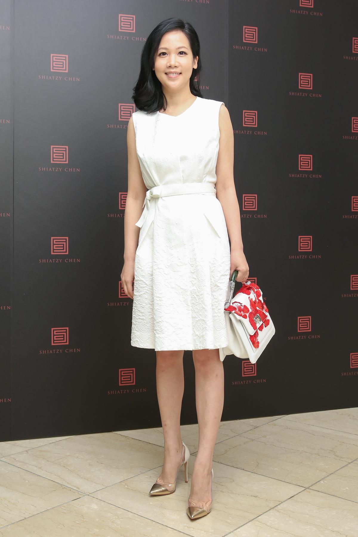 許媖媖是好媳婦代表,頻說自己是因為穿了自家服裝因此不顯胖。