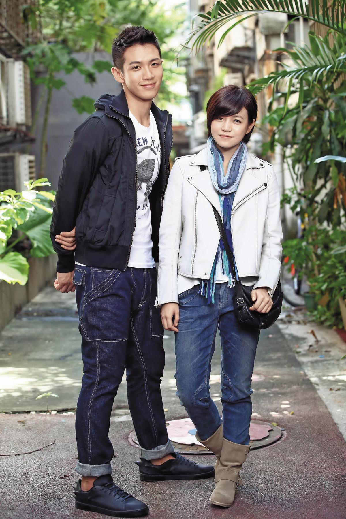 柯震東(左)跟陳妍希在2011年合作《那些年,我們一起追的女孩》,陳妍希紅到中國去,戲約不斷,但因為生子而工作停擺。(東方IC)