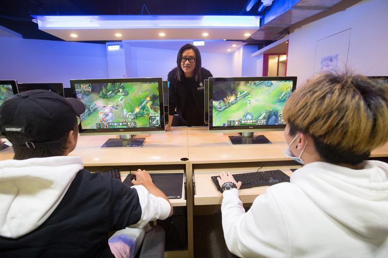 施文彬認為電競產業的核心是選手,他們在各大賽事為台灣爭光,而協會要做他們的後盾,替他們發聲