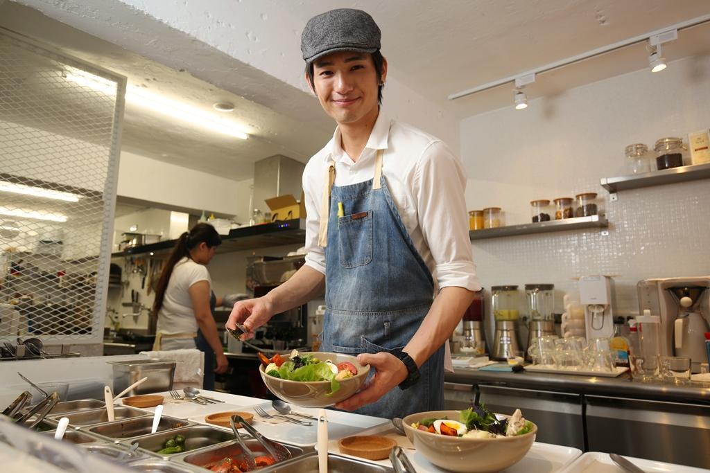 老闆莊永駿設計營養均衡的Bowl料理,讓現代人吃得方便又健康。