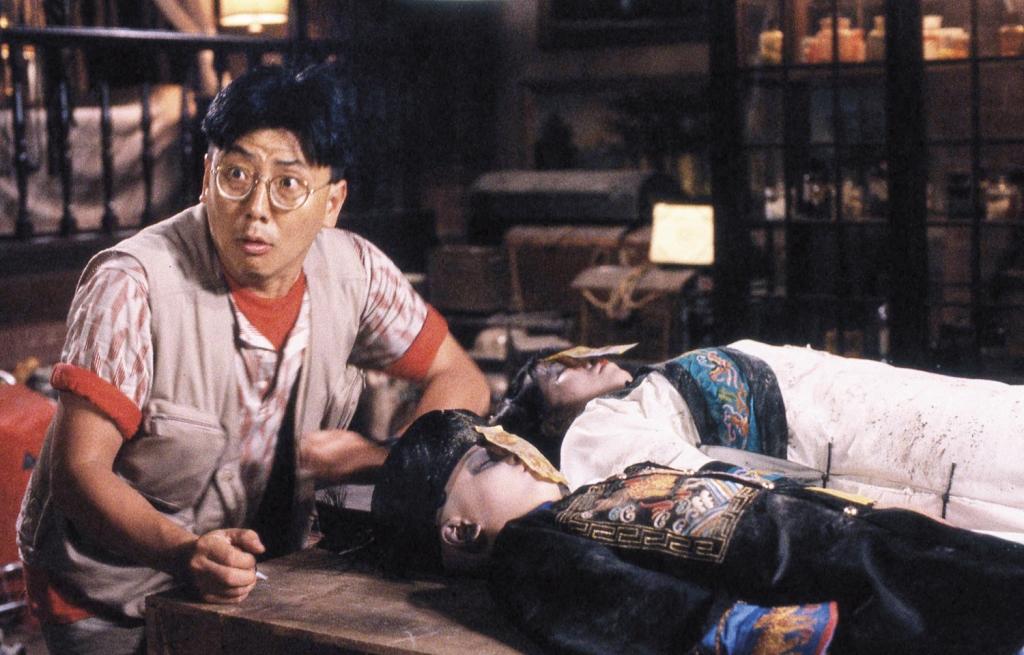樓南光(左):在殭屍片中多數演出搞笑猥瑣角色,目前淡出娛樂圈。