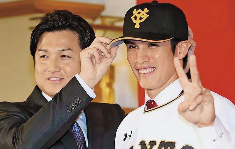陽岱鋼去年底加入日職豪門東京讀賣巨人隊,一紙高達15億日圓的合約,創下台灣棒球員在日職收入新高。(翻攝自讀賣巨人隊臉書)