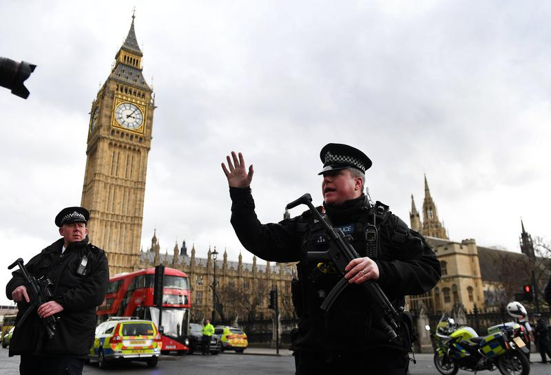 倫敦傳出恐怖攻擊,目前警方已掌握兇嫌身分。(東方IC)