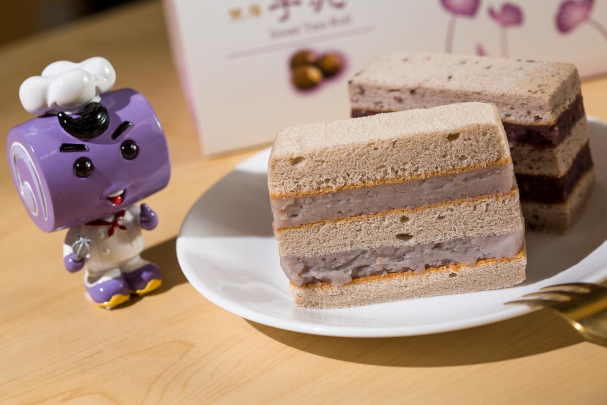 香帥蛋糕招牌產品芋泥卷屬於鮮品蛋糕,保存期僅4天。