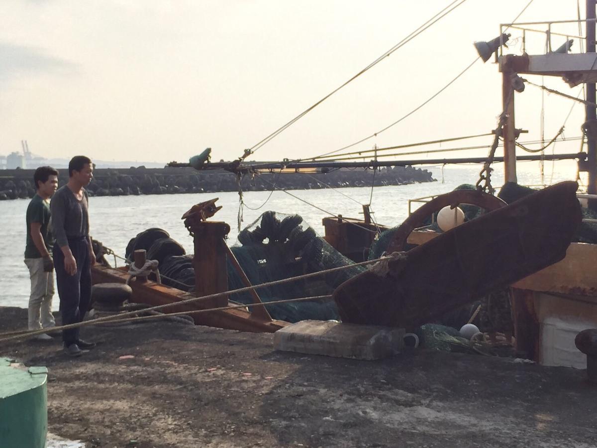中國漁船被海巡扣留1個月。