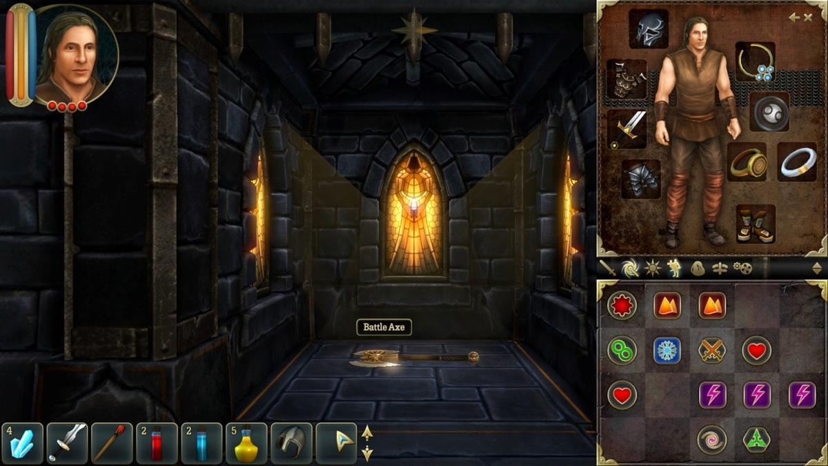 魔法攻擊模式:符石排列