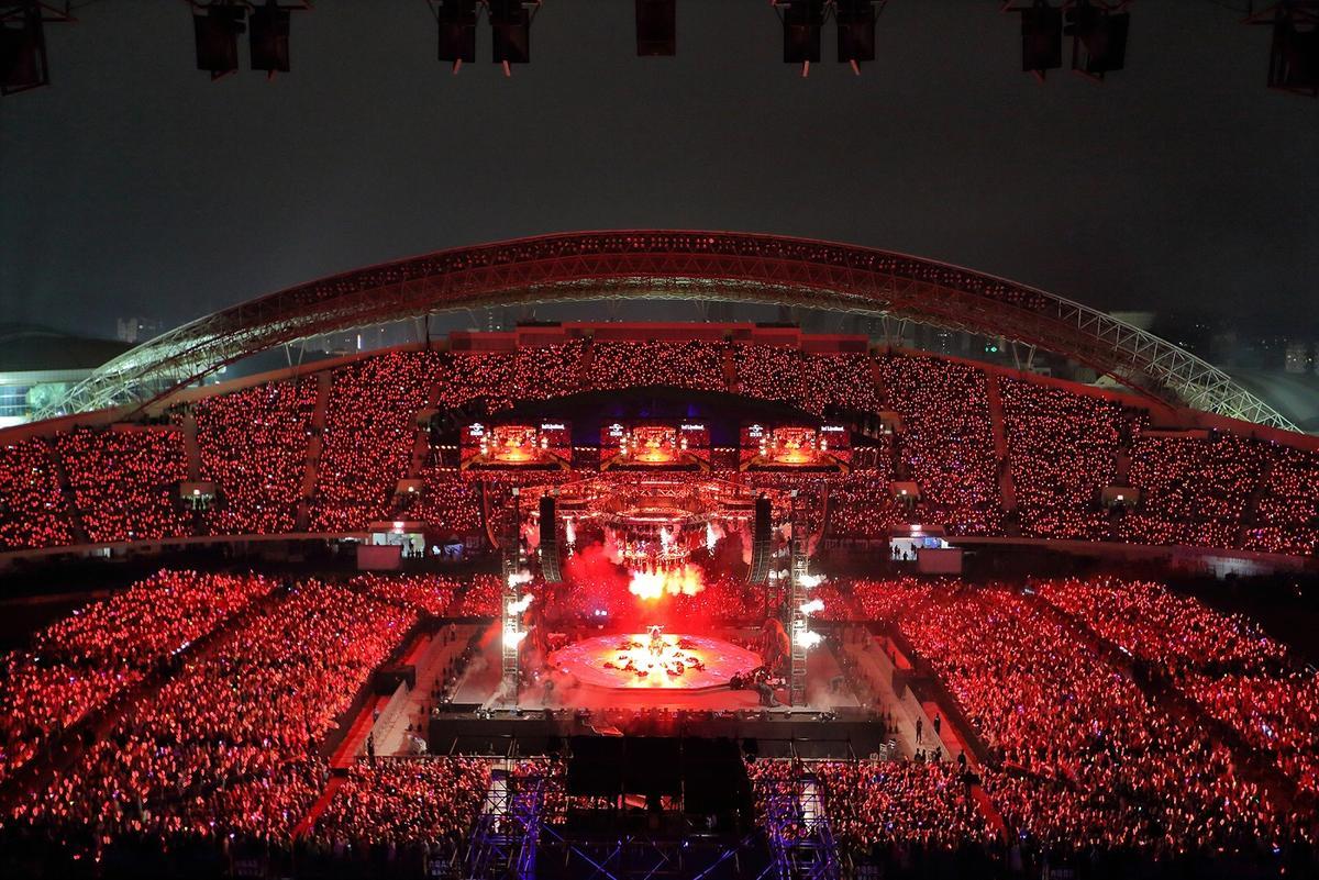 張學友演唱會全面升級,未來將有多場在戶外舉辦。