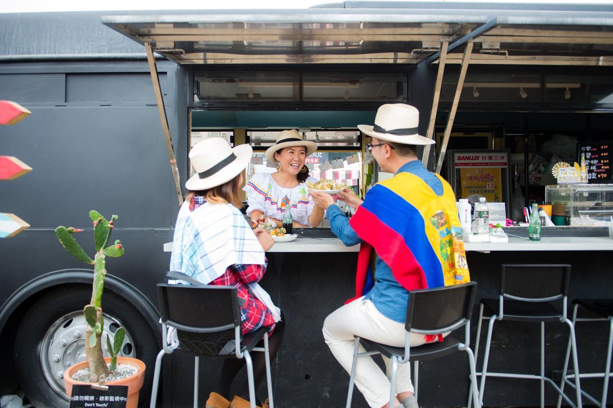 「PACHAMAMA」拉丁餐車讓人彷彿來到南半球。